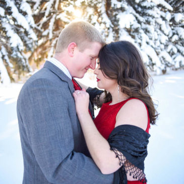 Clare & Mark's Winter Engagement